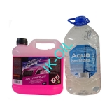 Happy Car Antifreeze G12+, 3l + Destilovaná voda 3l
