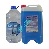 Happy Car Antifreeze G11, 10l + Destilovaná voda, 5l