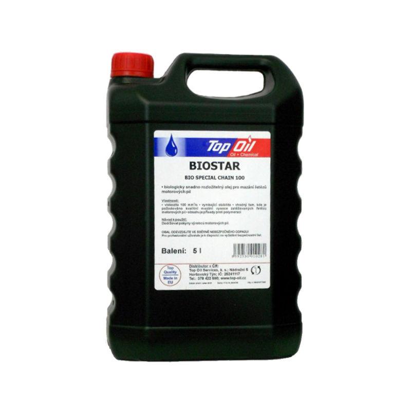 Biostar, Ekologický olej na lištu a řetěz, 5L (Bio Special Chain 100)