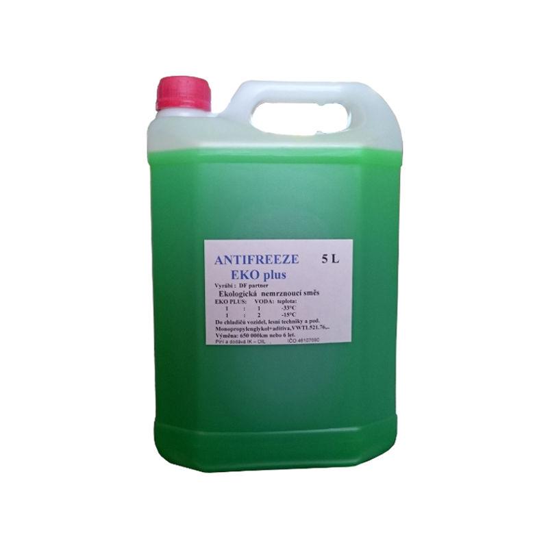 Sheron Zelená chladící kapalina EKO plus, 5L