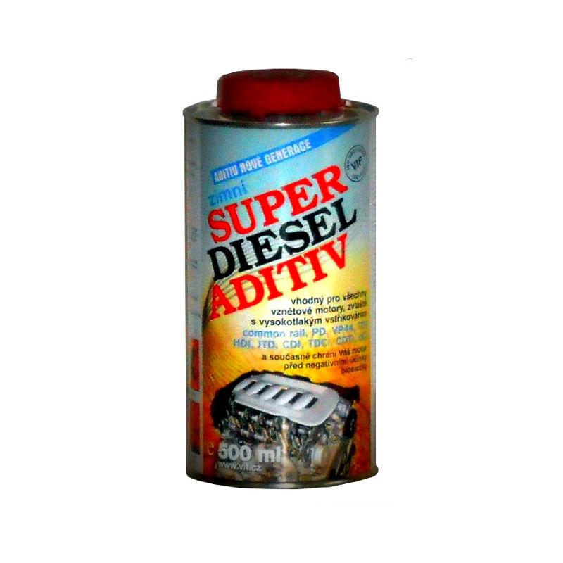VIF Super Diesel Aditiv Zimní, 500ml (Aditiv nové generace)