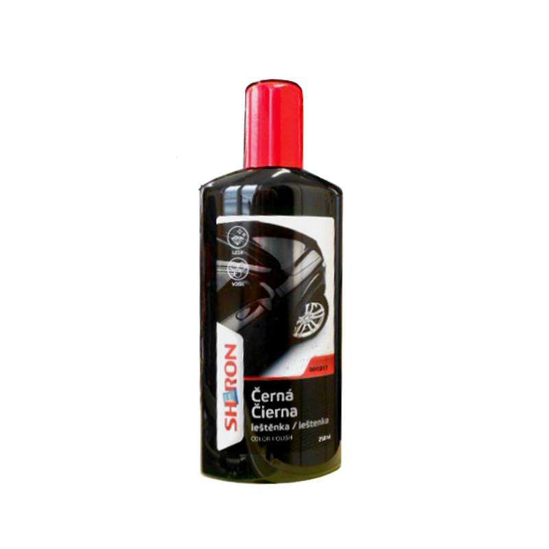 Sheron Leštěnka černá, 250ml (Auto leštěnka s voskem)
