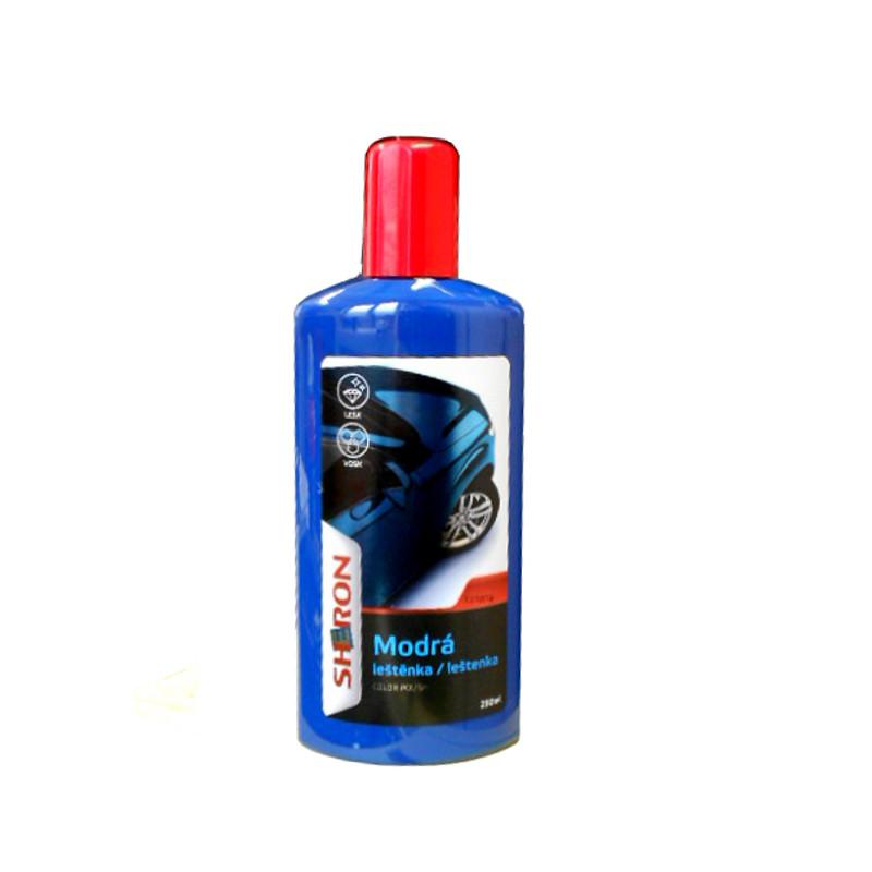 Sheron Leštěnka modrá, 250ml (Auto leštěnka s voskem)
