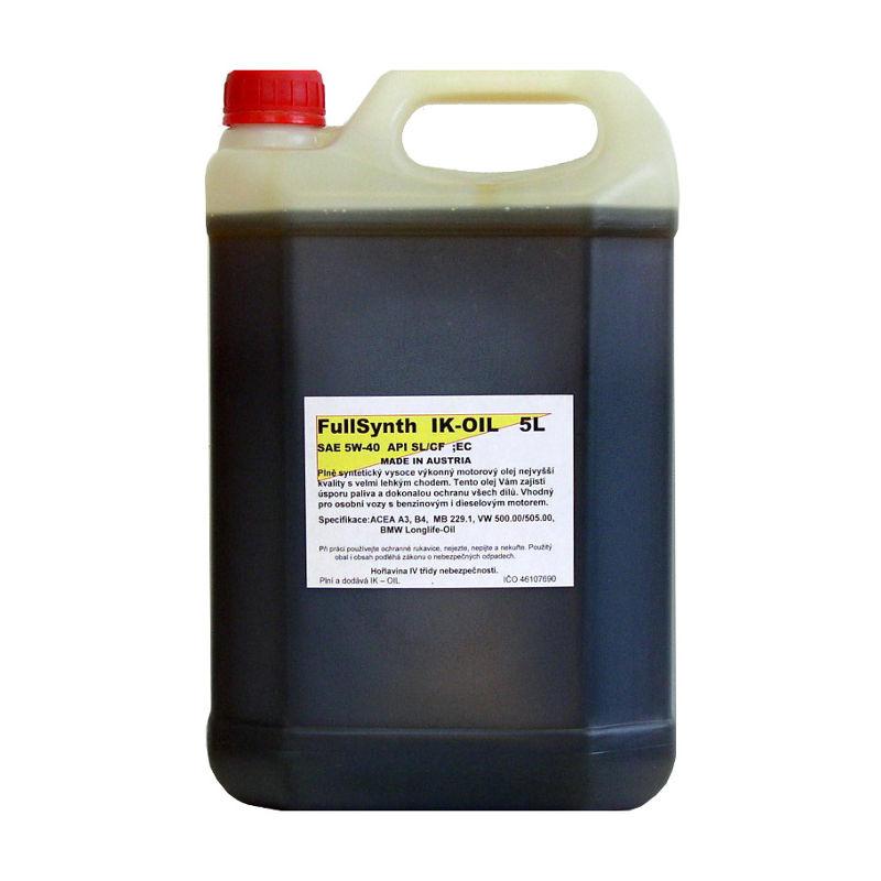 Fullsynth 5W-40 5L, IK-OIL (Plná syntetika - benzín i diesel)