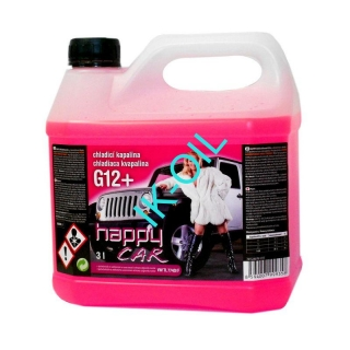 Happy Car Antifreeze  G12+, 3l